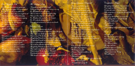 booklet: lyrics